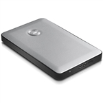 G-Technology 1TB G-DRIVE Silver - 7200RPM - USB 3.0: 0G02874