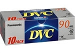 Panasonic DVM60 Mini DV Tape 10 Pack