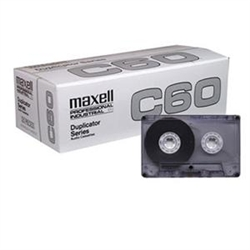 Maxell DUP-60 Duplicator Series Audio Cassette