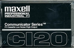 Maxell COM-120 Communicator Series Audio Cassette: 102011