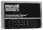 Maxell COM-90 Communicator Series Audio Cassette