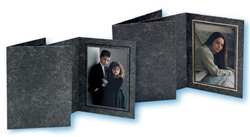 TAP Photo Folder Frame Avanti Black/Black 8x10 - 25 pack #102404R25