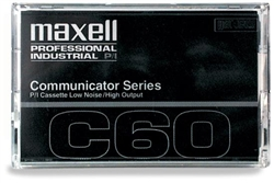 Maxell COM-60 Communicator Series Audio Cassette