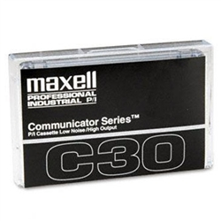 Maxell COM-30 Communicator Series Audio Cassette