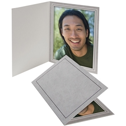 TAP Photo Folder Frame Gray Marble PF-20 5x7 - 25 Pack: 102910R25