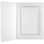 TAP Photo Folder Frame Whitehouse 5x7 - 25 Pack: 103127R25
