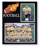 TAP football player/team 7x5 & 3x5 memory mates photo frame - Pack of 10: 103182100