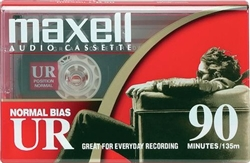 Maxell Normal Bias UR 90-Minute Audio Cassette Tape