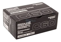 Maxell IS-60 Minutes Instant Start Audio Cassette