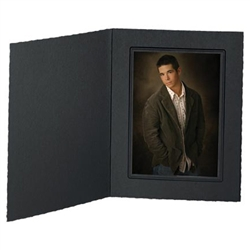 TAP Picture Folder Frame Buckeye, Ebony/Ebony, for 5x7 Photo,10 Pack