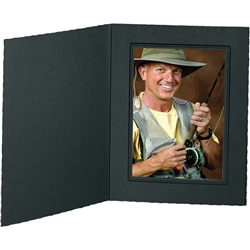 Tap Photo Folder Frame Buckeye Ebony/Ebony 5x7 - 25 Pack: 137039R25