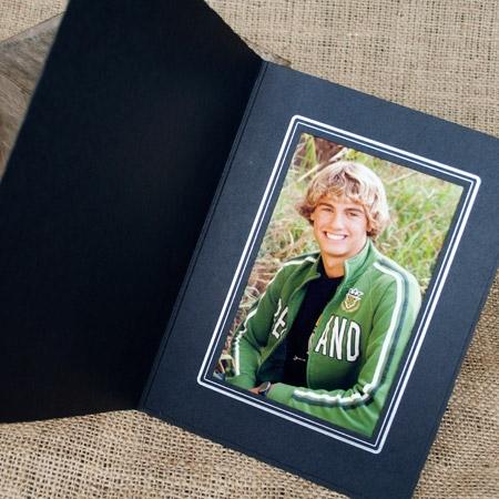 TAP Picture Folder Frame Buckeye Black/Silver 5x7