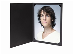 TAP Cut-Cornered Photo Folder Frame Ebony 5x7 : 145306R25