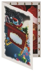 TAP Santa Sleigh Photo Folder (single) 5x7: 149585500