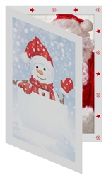 TAPSnowman Photo Folder Frame (package of 100) 5x7: 149680100