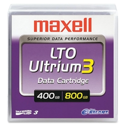 Maxell LTO 3 Tape - Library Pack of 20: 183900LP