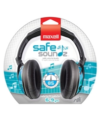Maxell SAFE SOUNDZ 6-9 BOYS  SSHP-B69