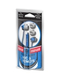 Maxell IN EAR BUD WITH MIC    IE-MIC BLU