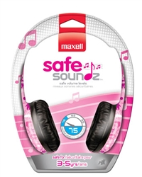 Maxell SAFE SOUNDZ 3-5 GIRLS  SSHP-G35