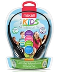Maxell Action Kids Headphones w/Mic   KFIT-HP