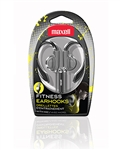 Maxell Fitness Earhook with MIC Silver  EH-131S