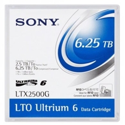 Sony LTO 6 Ultrium Tape Library Pack of 20 (20LTX2500GL)