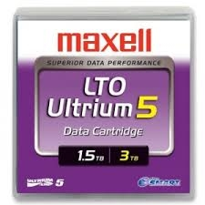 Maxell LTO 5 Ultrium Tape 1.5/3.0 TB - Library Pack of 20: 229328