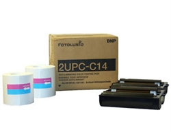 Fotolusio DNP 2UPC-C14 Color Paper & Ribbon