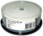 Falcon DVD-R 4.7GB, 8X Standard 24K Gold EP II Smart White inkjet 23 -115mm - Cake Box 25 UHC-3150206504000711