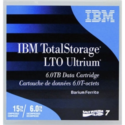 IBM LTO 7 Tape Library Pack of 20 - 38L7315