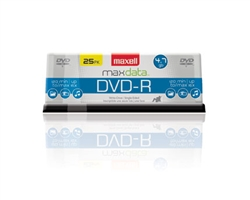 Maxell DVD-R 25PK SPN  DVD-R 4.7 GB Spindle