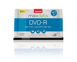 Maxell DVD-R 50PK SPN  DVD-R 4.7 GB Spindle