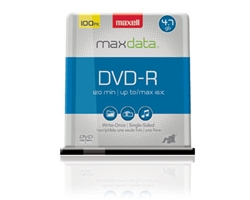 Maxell DVD-R 100PK SPN  DVD-R 4.7 GB Spindle
