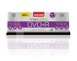 Maxell DVD+R 25PK SPN  4.7GB DVD+R Spindle