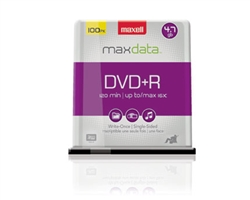 Maxell DVD+R 100PK SPN  4.7GB DVD+R Spindle