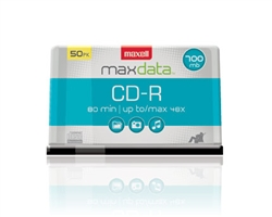 Maxell CD-R 700 50PC SPIN  700MB CD-R