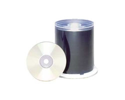 Maxell CD-RPW 100PC SPIN - Ink Jet  700MB Printable White Matte