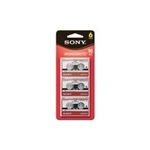 Sony MC-90 Microcassette 6PK