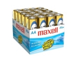 Maxell LR6 AA-Size Battery 20 Pack 723453- Alkaline - 1.5V DC
