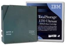 IBM LTO Ultrium-4, 95P4436, 800 GB/1.6 TB Compressed Data Cartridge