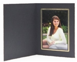 TAP Picture Folder Frame Buckeye Black/Gold 5x7 #102488250