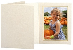 Picture folder frame in opal ivory/marble/gold size 4x6 #102852100