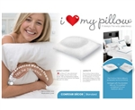 I Love My Pillow Queen Size Contour Pillow