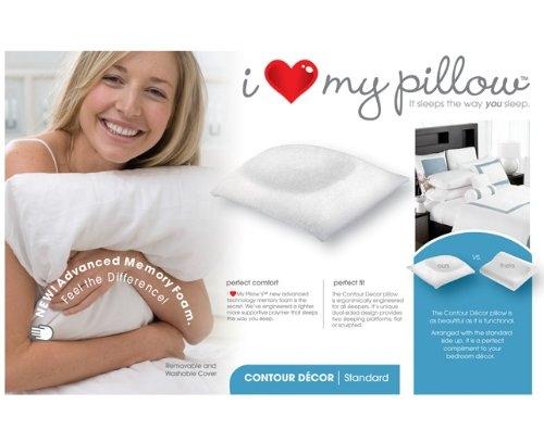 I Love My Pillow King Size Contour Pillow C23 M 5sb Pillows I