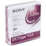 Sony DLT tape VS1 Storage media - DLT - 80 GB, DLTVS1160WW