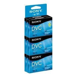 5 Pack Sony DVM60PRR DVC Digital Video Cassette Tape 60 min Premium