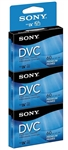 Sony DVM60PRR/3 Premium Digital Video Cassette Brick - 3 Pack