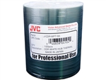 JVC (J-CDR-WPT-SK) 52X, White Thermal Everest Hub-Printable - 100 Pack