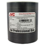 JVC 16X DVD-R 4.7 GB White Inkjet Hub Printable Media - 100 Pack