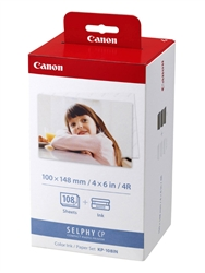Canon Color Ink and Paper Set